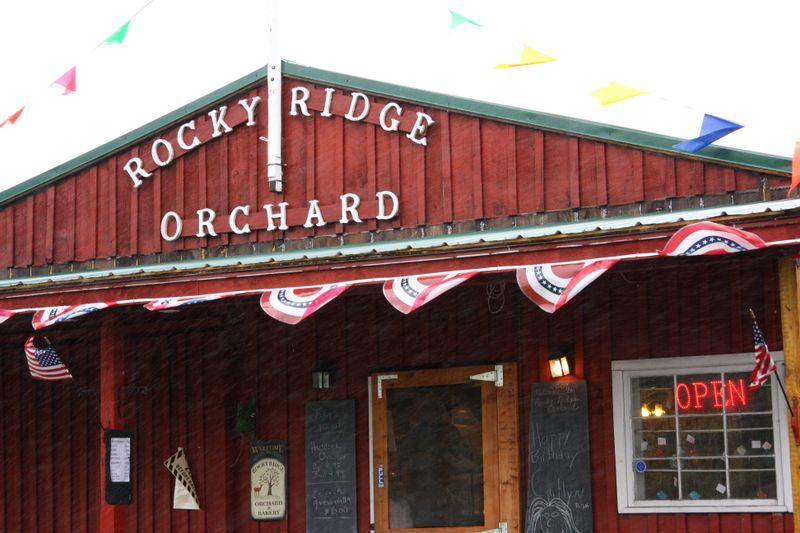 Rocky ridge orchard